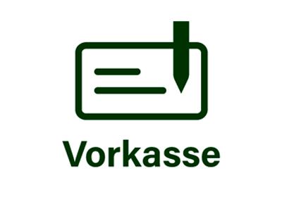 Vorkasse/Überweisung