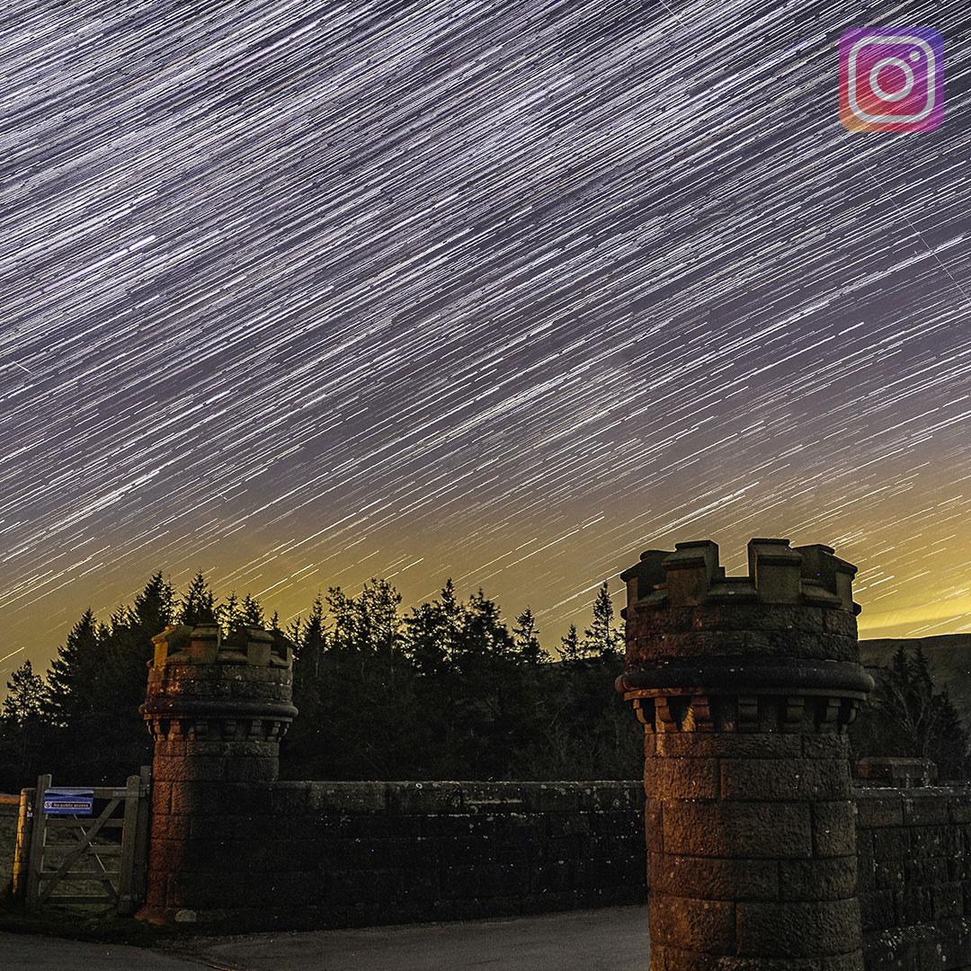 Langzeitbelichtung Sternenhimmel