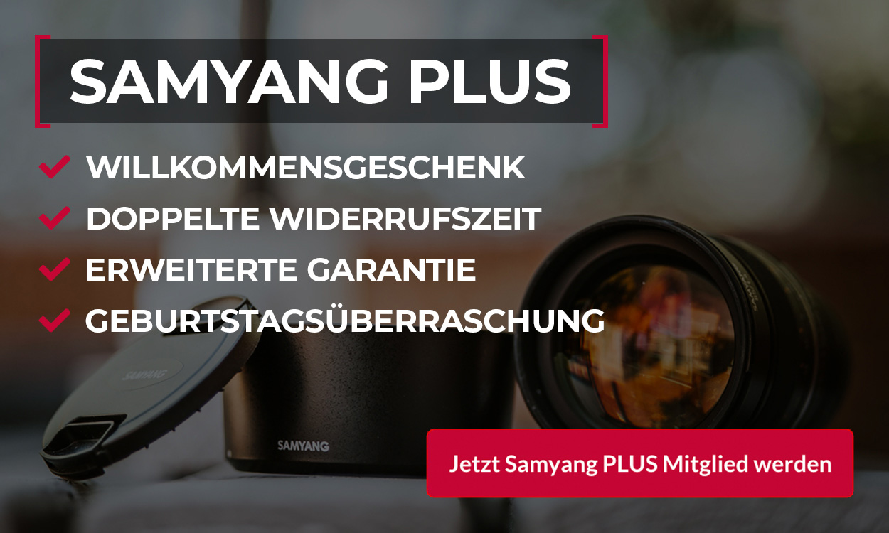 Samyang PLUS Vorteile